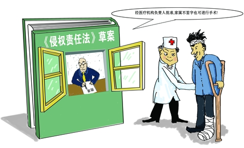 侵权责任法医疗